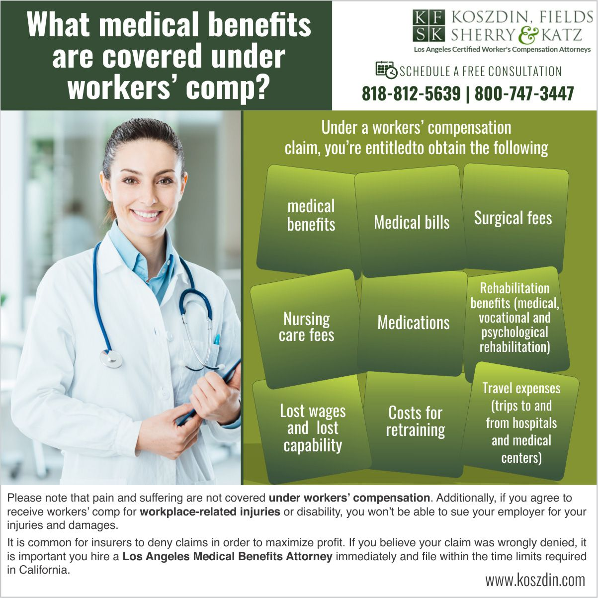 Medical Benefits Attorney In Los Angeles Medical Workers