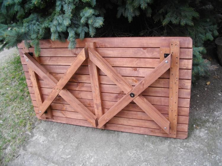 Handige Inklapbare Tafel : Inklapbare tafel va nhout inklapbare meubelen hout