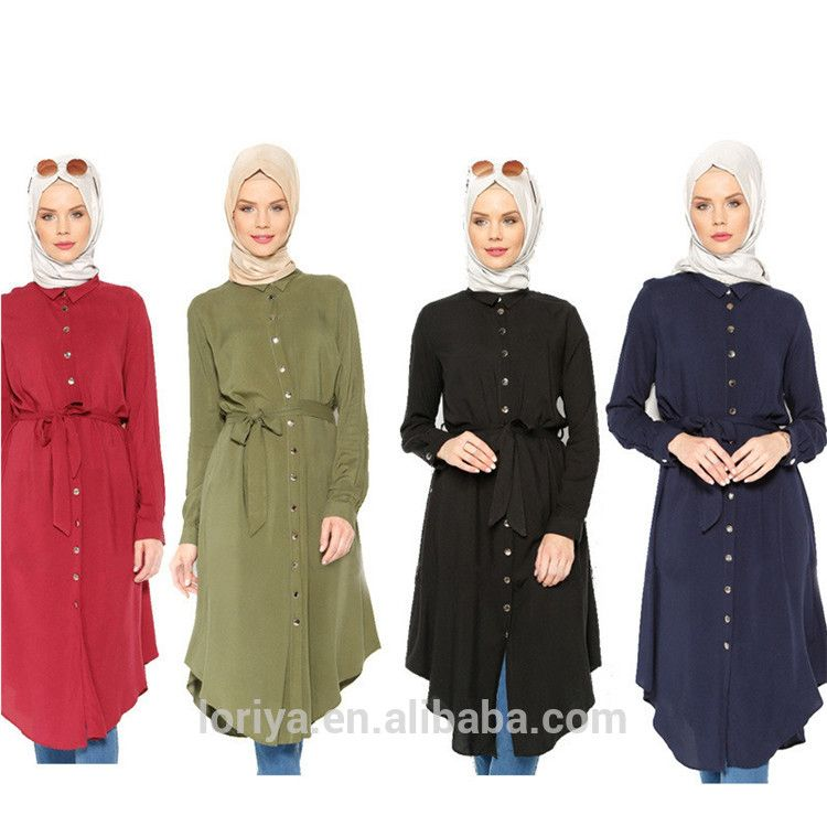 b367147111ddc6 Excellent quality fancy dubai abaya long sleeve blouse malaysia muslim tops  tunic dress islamic clothing women wear blouse