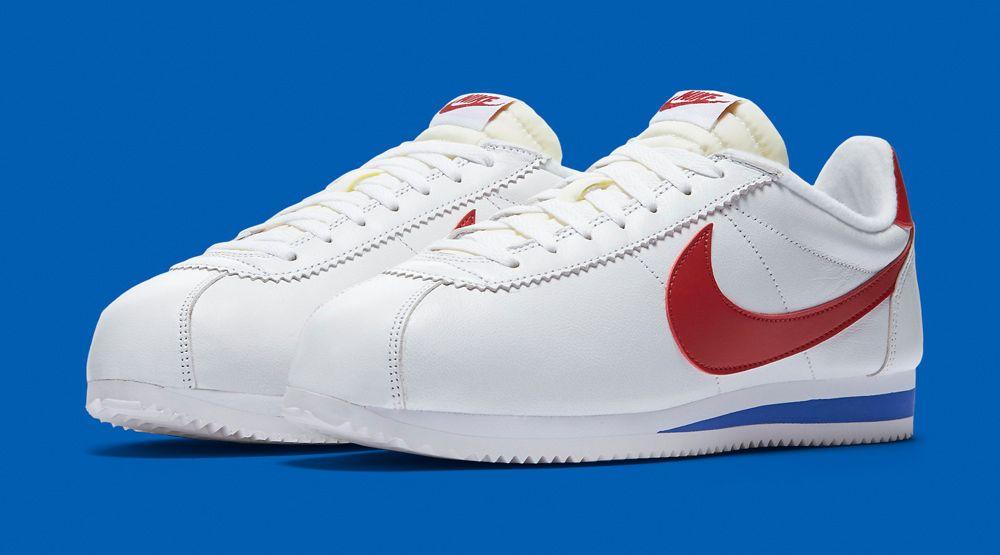 No de moda Paisaje reserva  Nike Keeps Bringing Back Forrest Gump's Sneakers   Nike classic cortez  leather, Nike, Nike cortez forrest gump
