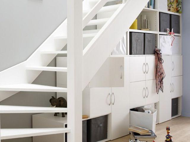 Range Chaussures 15 Astuces De Rangements De Chaussures Qui Changent Elle Decoration Amenagement Escalier Rangement Sous Escalier Et Idees Escalier