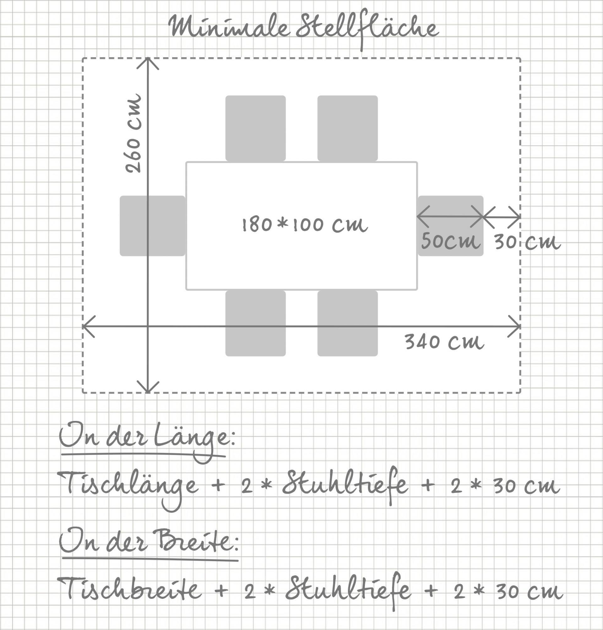 Stellfläche Esszimmertisch Esszimmertisch, Tisch, Küche