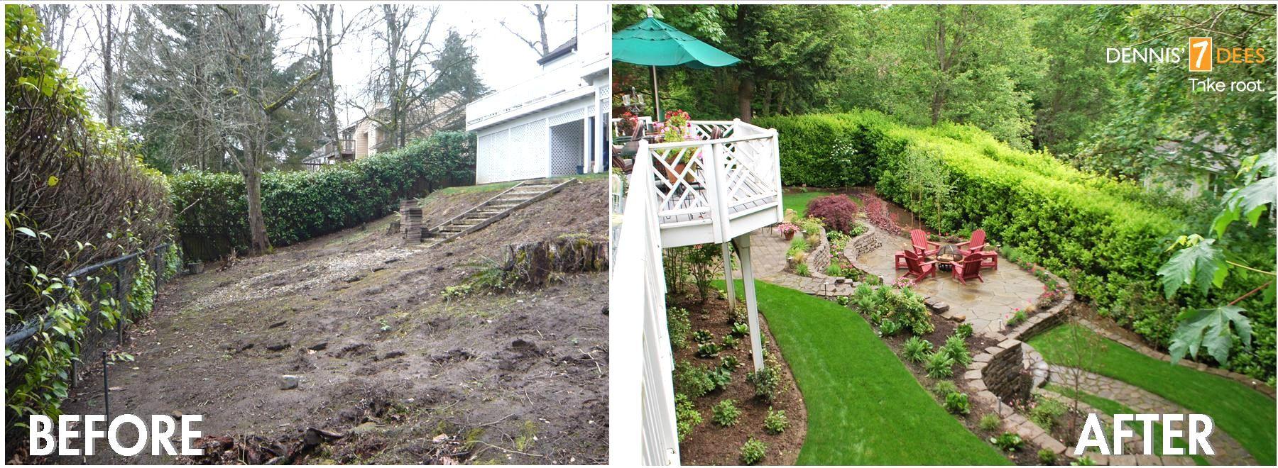 Backyard Landscaping Ideas For Slope Unique Landscape Design