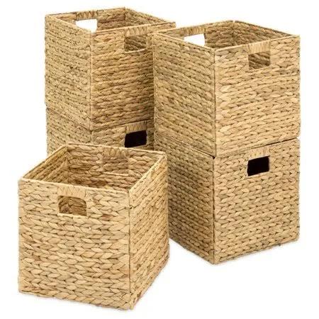 12x12x12 Wicker Baskets Google Search Storage Baskets Crate Storage Cube Storage Bins