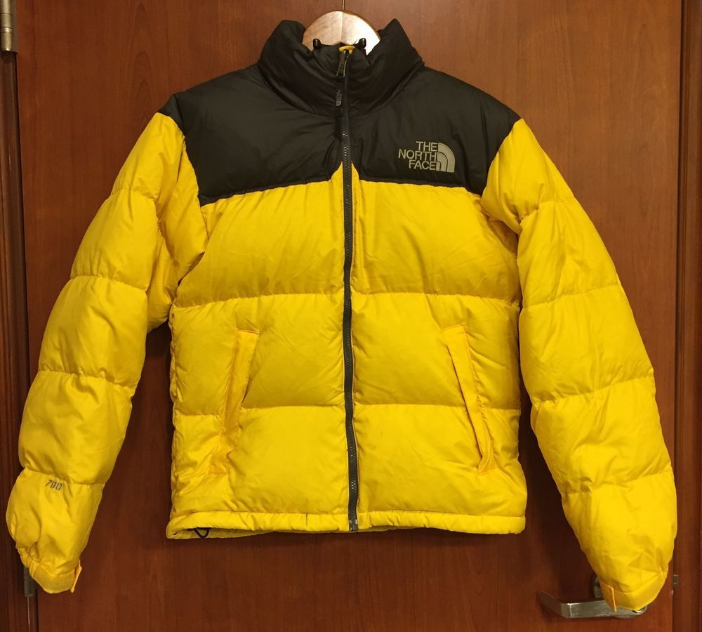 addb3a07d usa north face yellow down jacket design c94d1 81035