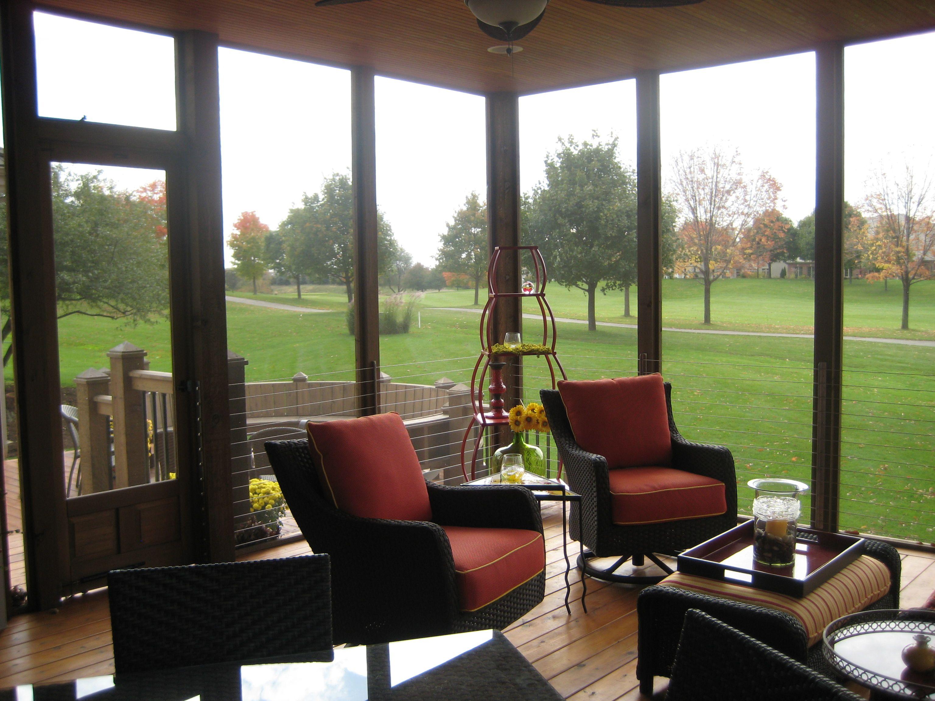 Mccloud Amp Associates Llc Screened Porch With Pergola Roof