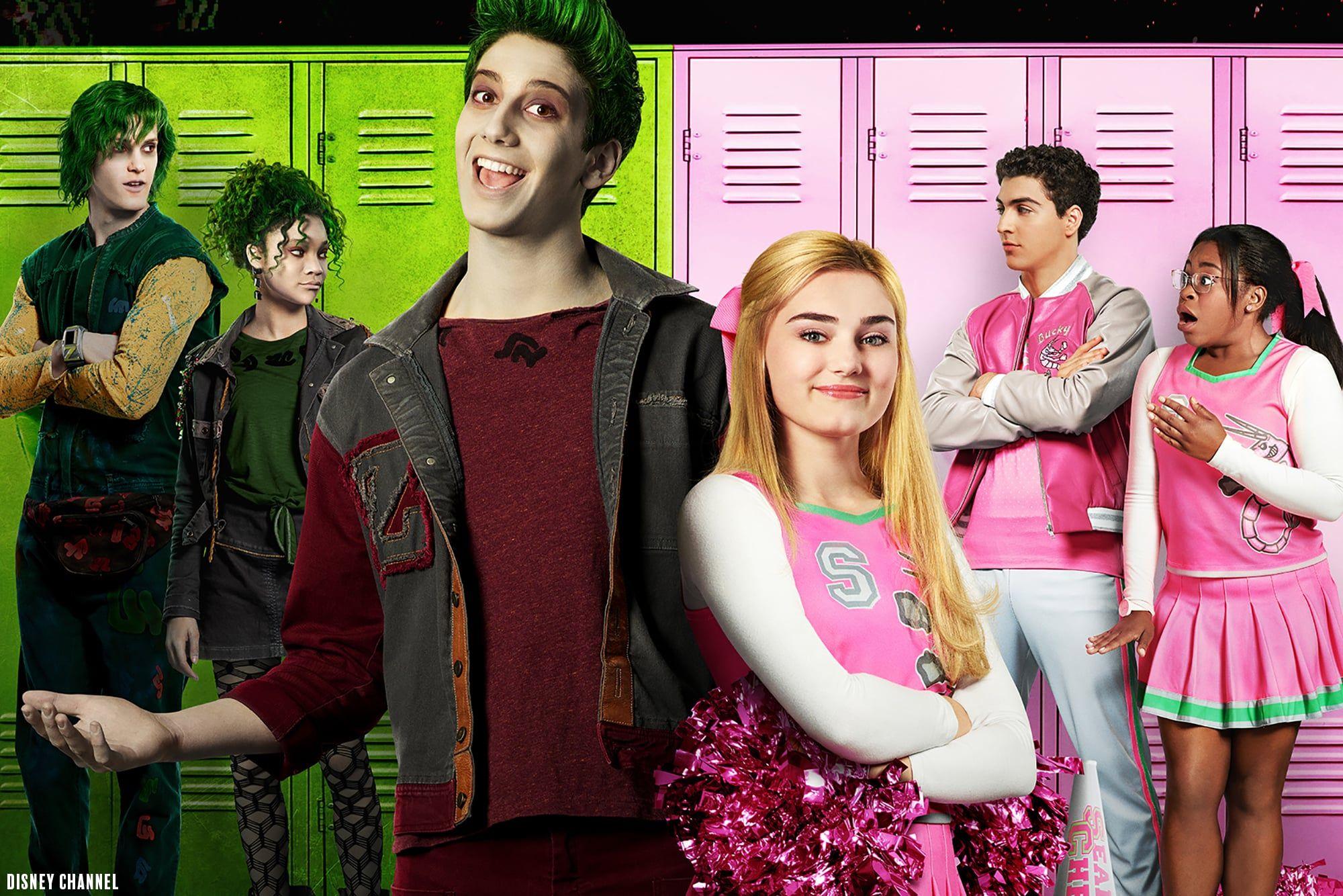 Meet The Cast Of The Disney Channel Original Movie Zombies Zombie Disney Pelicula Disney Channel Disney Challenge