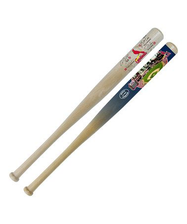 Look what I found on #zulily! St. Louis Cardinals 18'' Signature & Stadium Mini-Bat Set #zulilyfinds