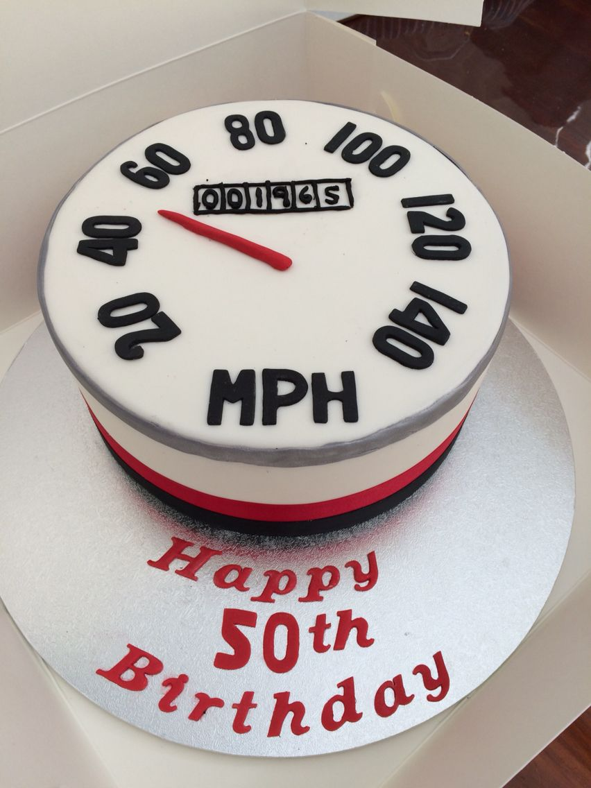 Speedometer Cake Ideas For Him In 2019 Birthday Cake