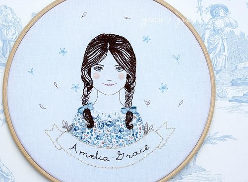 embroidered name art | Flickr - Photo Sharing!