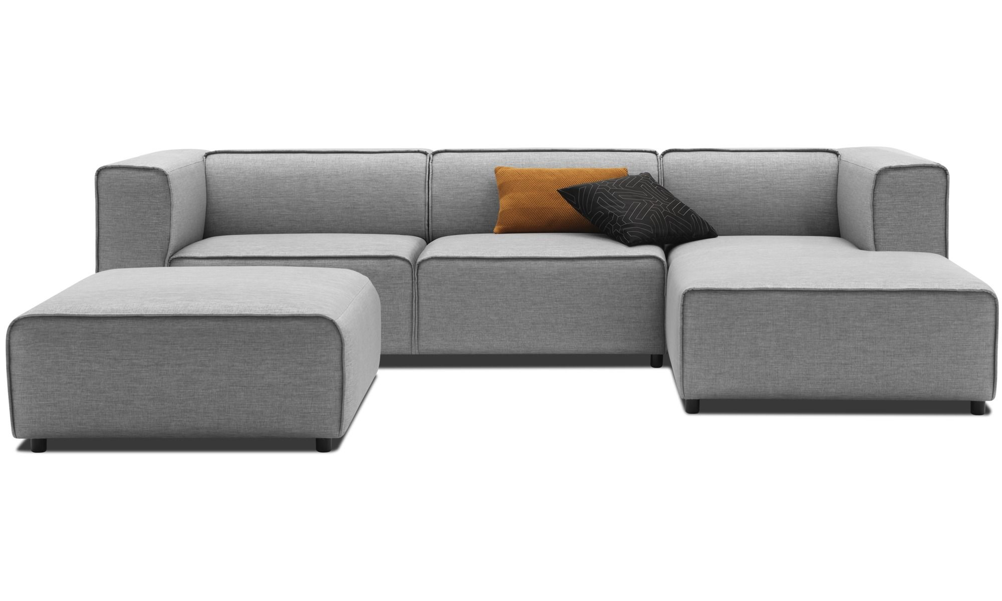 modulare sofas carmo hocker grau stoff einrichtung. Black Bedroom Furniture Sets. Home Design Ideas