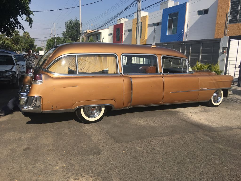 sale hearse for cadillac death becomes