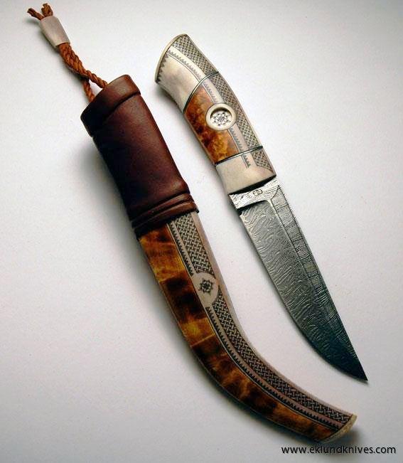Half Horn Knives | Eklundknives