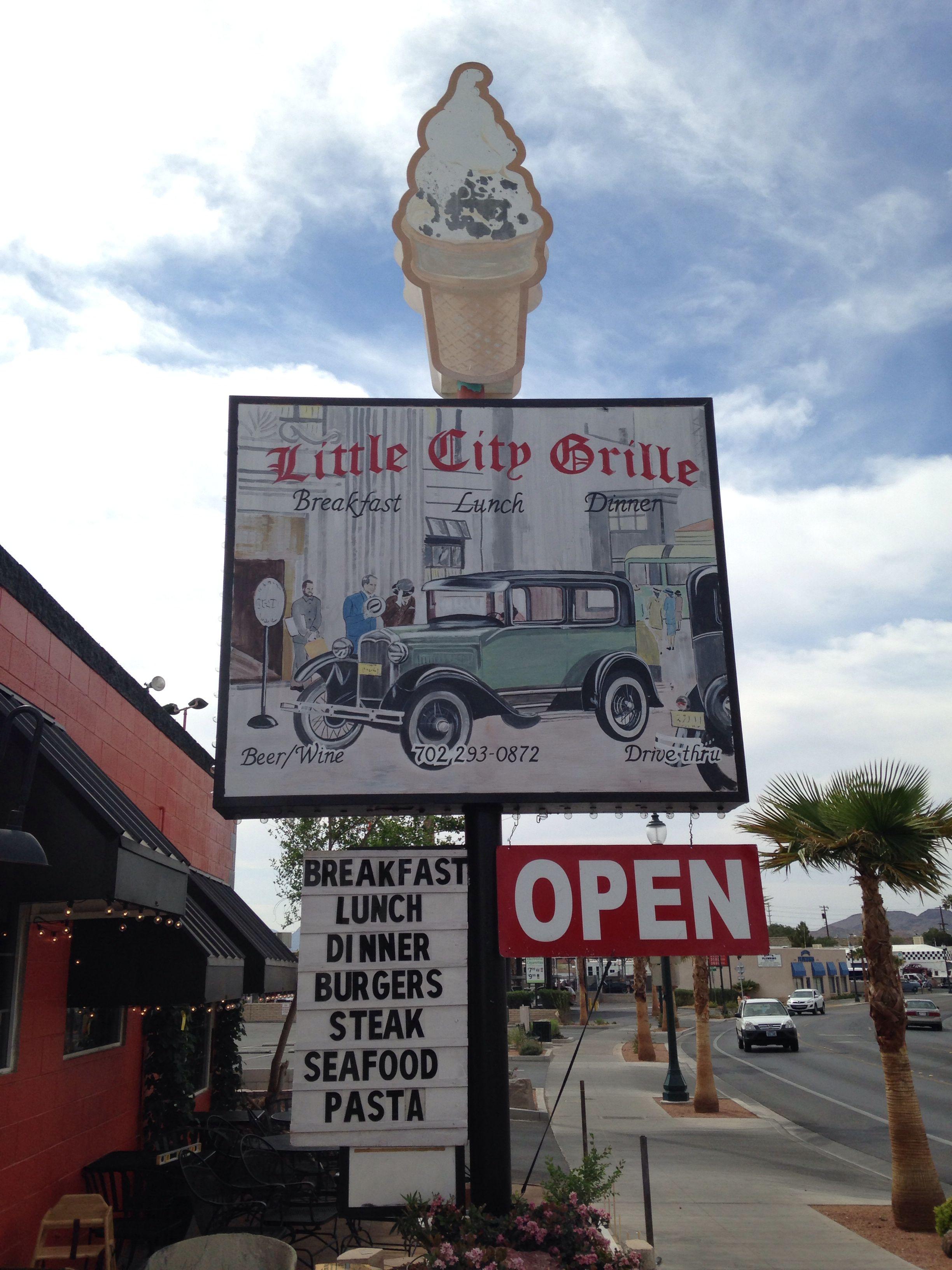 Great food in Boulder-near Las Vegas.