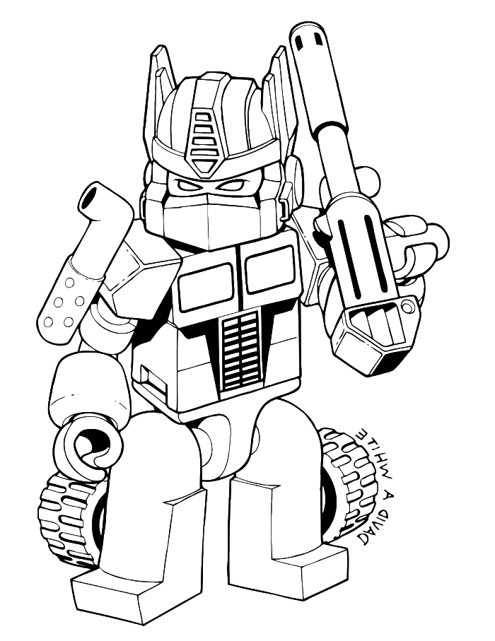 Transformers Was Shot Very Good Coloring Page Transformer Coloring Pages Kidsdrawin Lego Coloring Pages Transformers Coloring Pages Coloring Pages For Boys