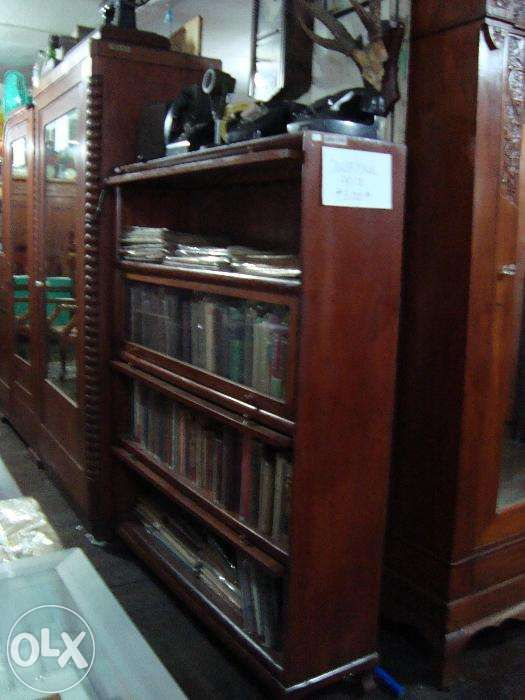 Antique Bookcase 4 Layers Glass Doors Narra For Sale Philippines