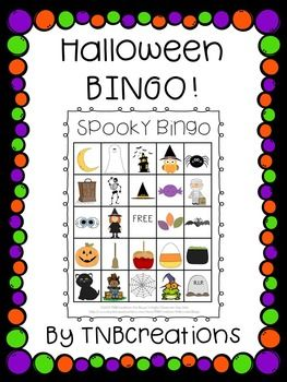 Your students will love playing Halloween BINGO on Halloween!  In this product you will receive the following: 30 DIFFERENT printable BINGO cards (25 spaces of pictures, including 1 free space on each card) Calling Cards with each picture and words that say the name of the image to be cut out. Fun for all ages!