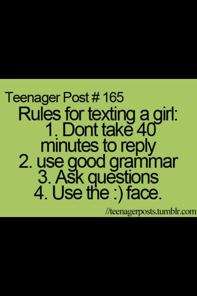 Text message teen quote