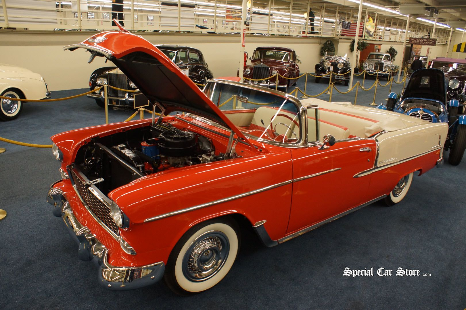 1955 Chevrolet Bel Air Convertible The Auto Collections Las