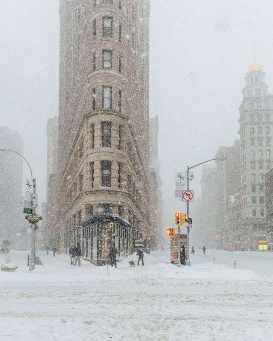 Impressive Pictures of New York During Jonas Snow