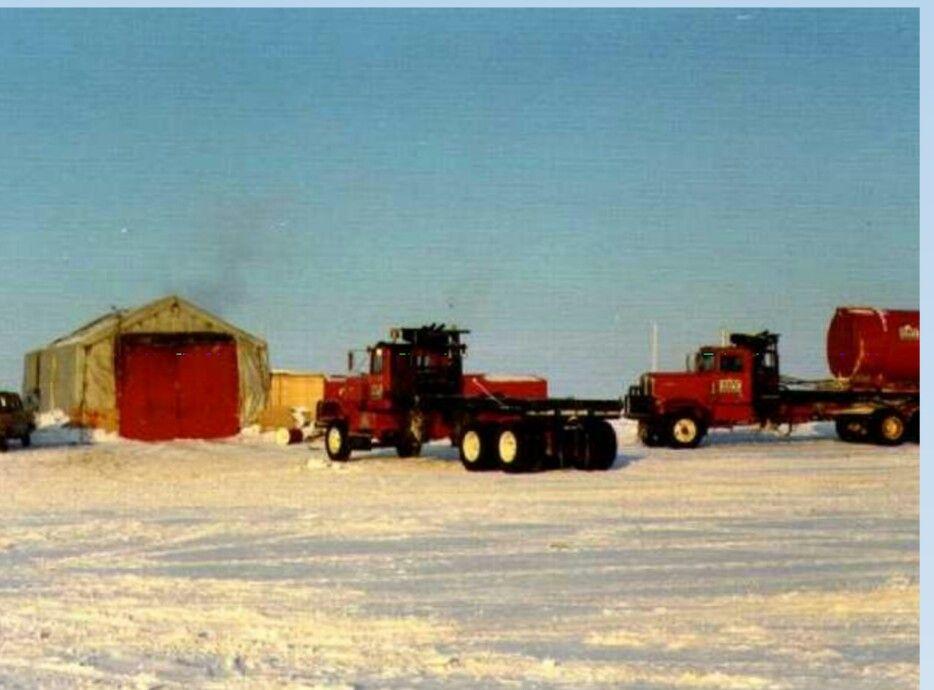 Kaps at panarctic aprox 1973 Big trucks, Heavy duty