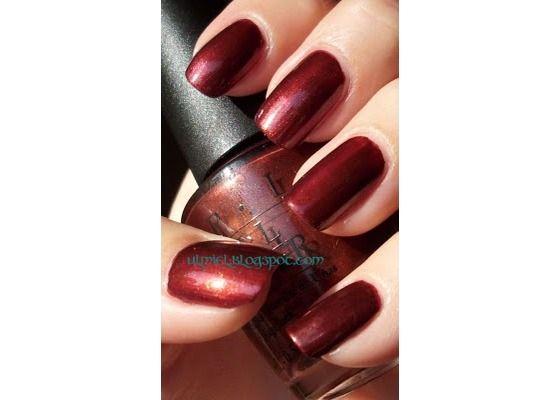 New Opi Quot Romeo Amp Juliet Quot Brownish Burgundy Shimmer Polish Free Shipping 9 95 Nails