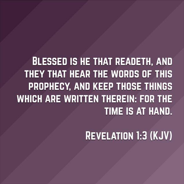 revelation 1 kjv