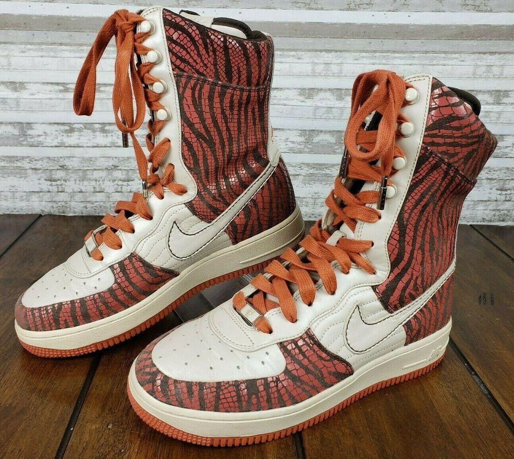 "Nike Air force 1 '07 supreme high 6"" inch sneakers Womens"