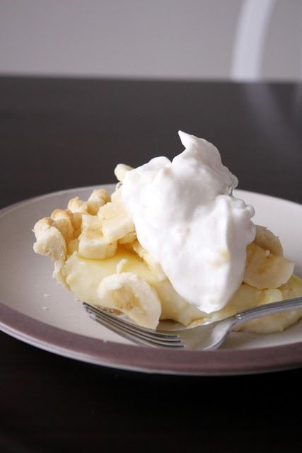 whipped cream from bananas and egg whites
