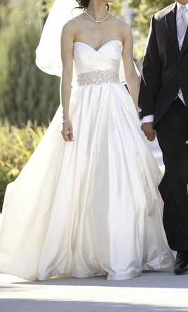 Used Lazaro Wedding Dress 3018