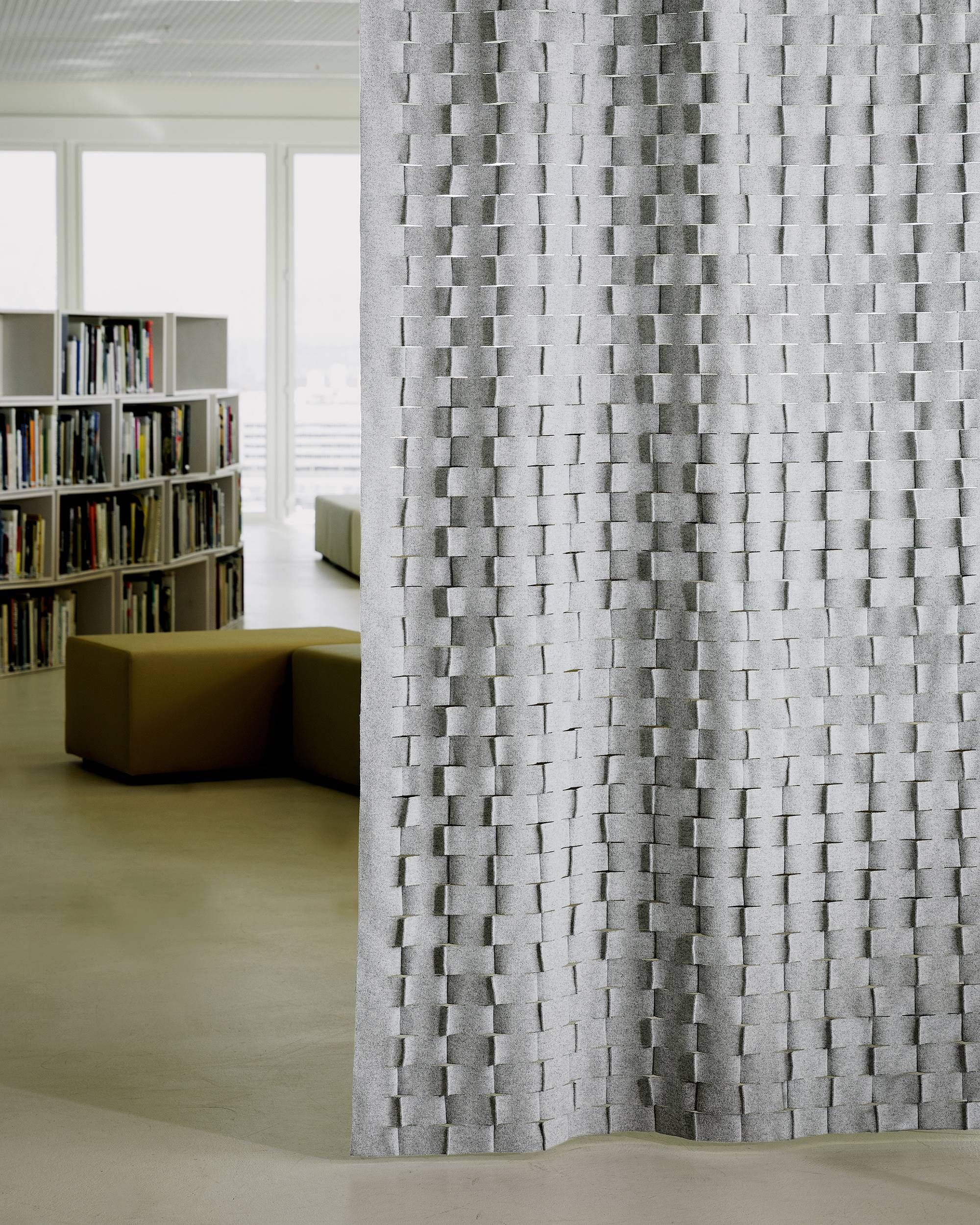 Pin By Maison Jegou On Rideaux Et Voilages Acoustic Panels Fabric Covered Walls Interior Design
