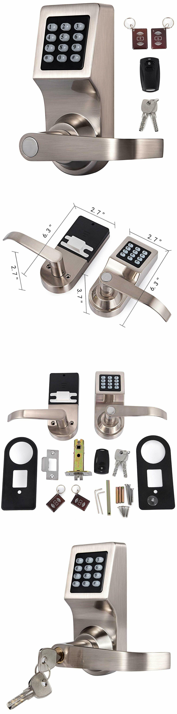 Door Locks And Lock Mechanisms 180966 4 In 1 Digital Door Lock With Remote Control M1 Card Code And K Fingerprint Door Lock Digital Door Lock Keyless Deadbolt