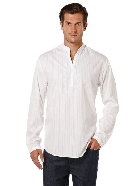 01fc386ed0 LONG SLEEVE EMBROIDERED POPOVER SHIRT