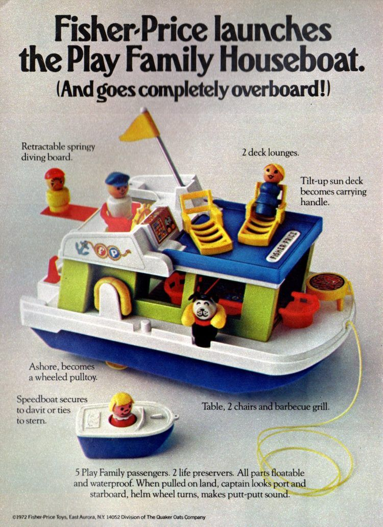 Look back at these vintage Fisher-Price Little People play sets & remember the good ol' days - Click Americana