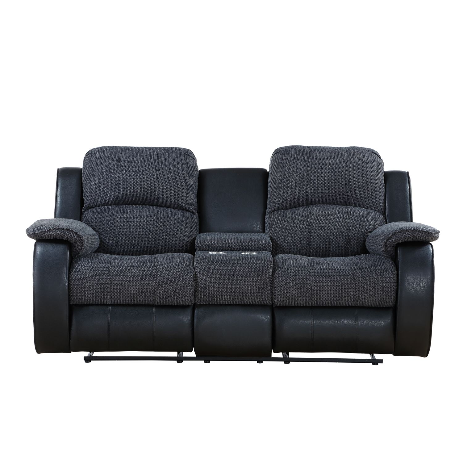Outstanding Chicago Two Seater Console Recliner Sofa Living Room Pdpeps Interior Chair Design Pdpepsorg