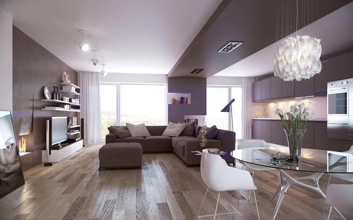 Living smag design soggiorno in stile scandinavo | homify ...