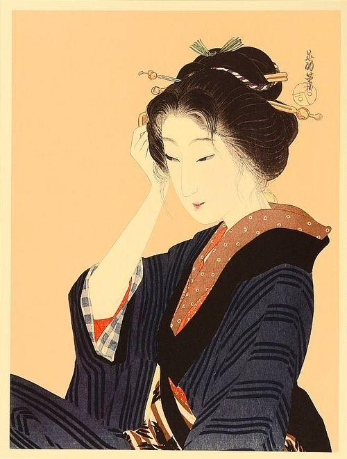 by Eiho Hirezaki (1881-1968)