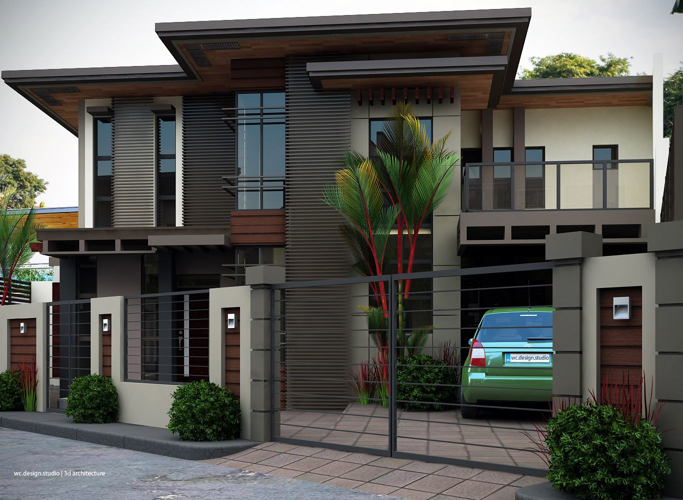 Modern Home Exteriors With Stunning Interior Facade House House