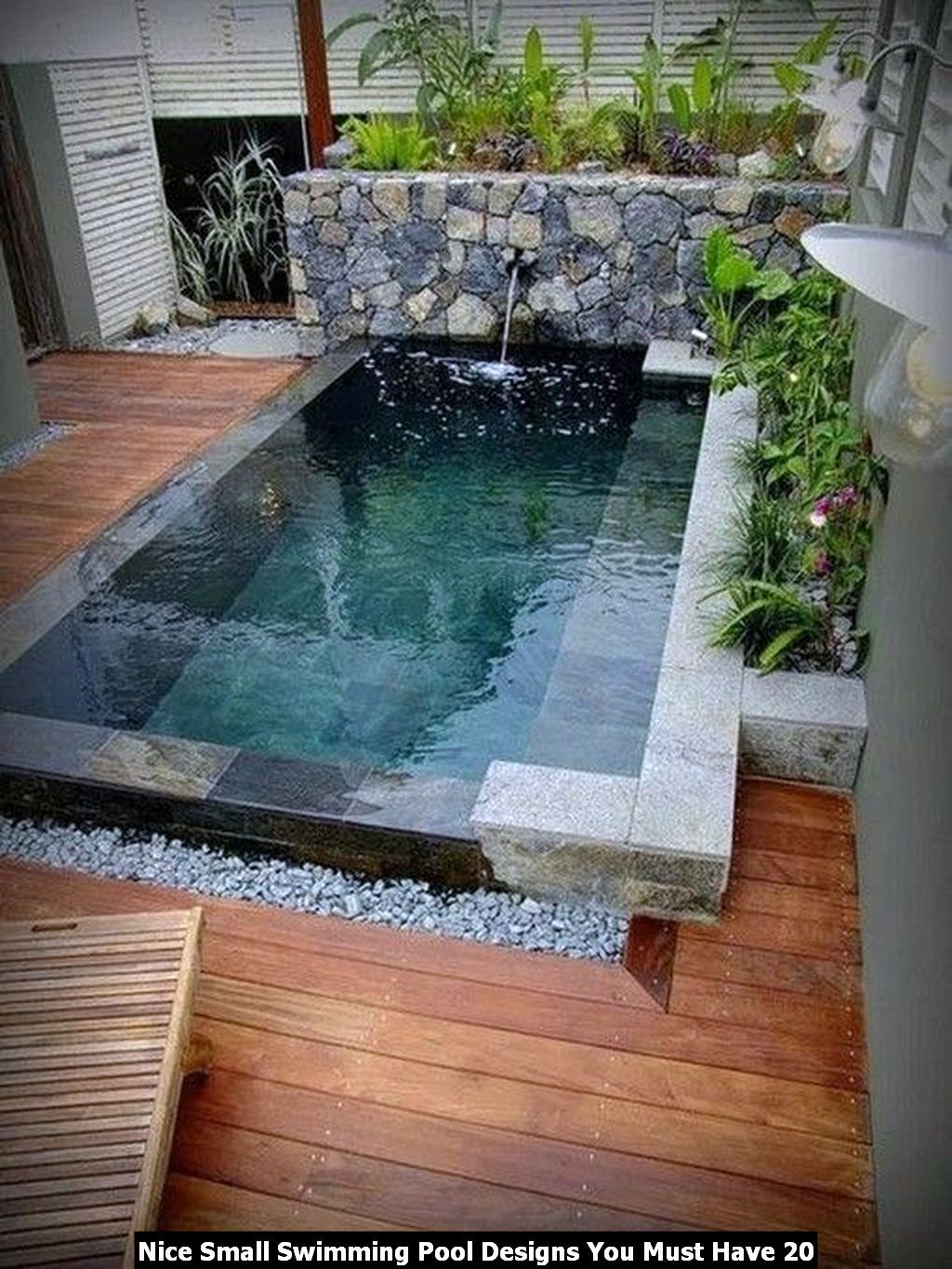 Nice Small Swimming Pool Designs You Must Have Pimphomee Small Pool Design Small Backyard Pools Backyard Pool Design Mini pool in backyard