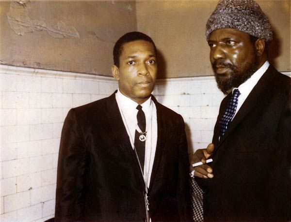 The Masters Monk and Trane.  Jazz represents improv and these guys were the best at jazz.  The astonishment of listening never ends.
