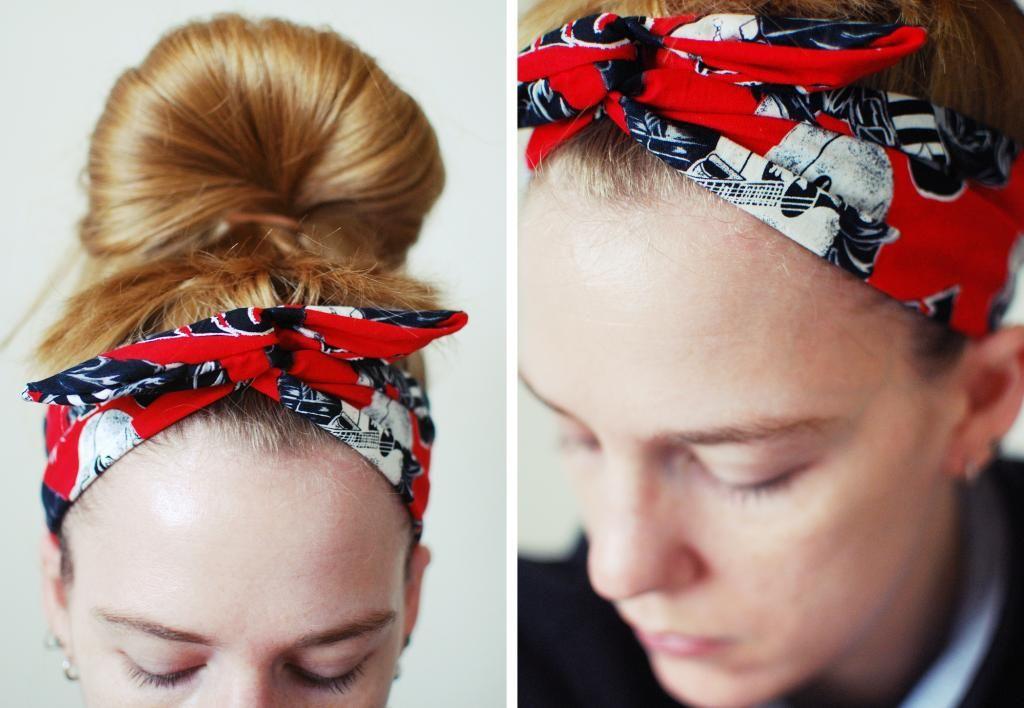 Flexible Wire Headbands Dolly Bows Rockabilly Headbands Wire Headbands  SOMETHiNG MONUMENTAL  DIY Rockabilly Headband 86094191f79