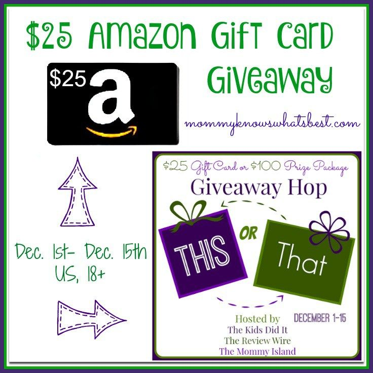 25 amazon gift card giveaway this or that hop