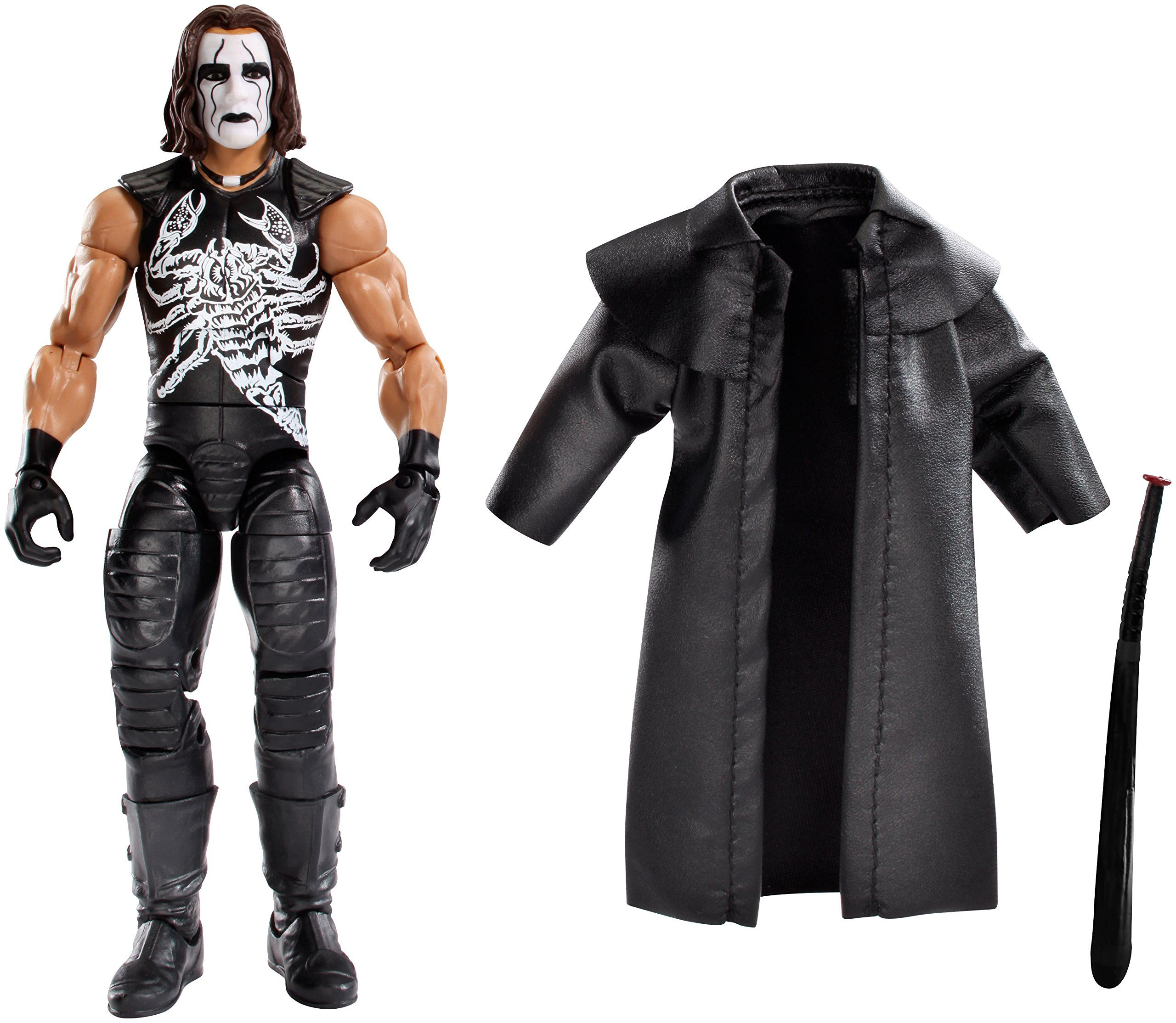 Amazon.com: WWE Elite Collector Defining Moments Sting Action ...