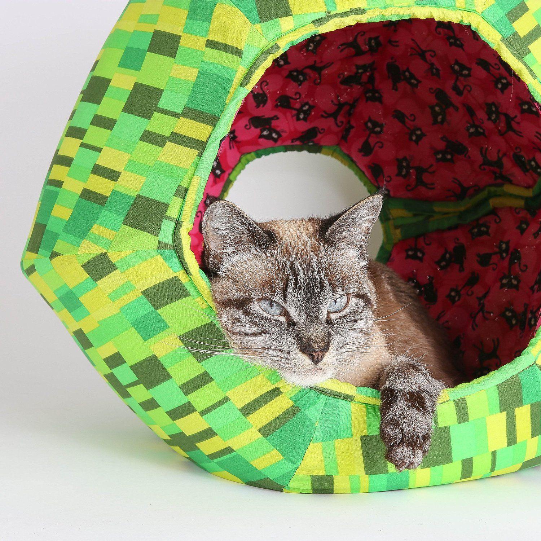 Black Cats Watermelon Cat Ball Kitty Bed