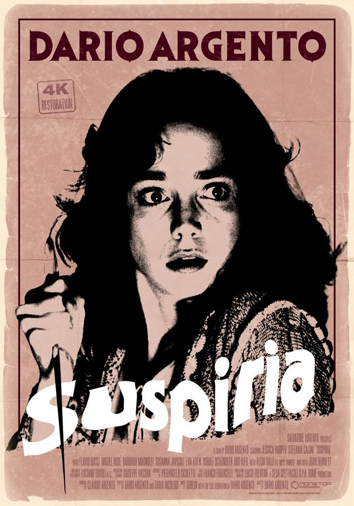 Suspiria (1977) Horror movie posters, Horror posters