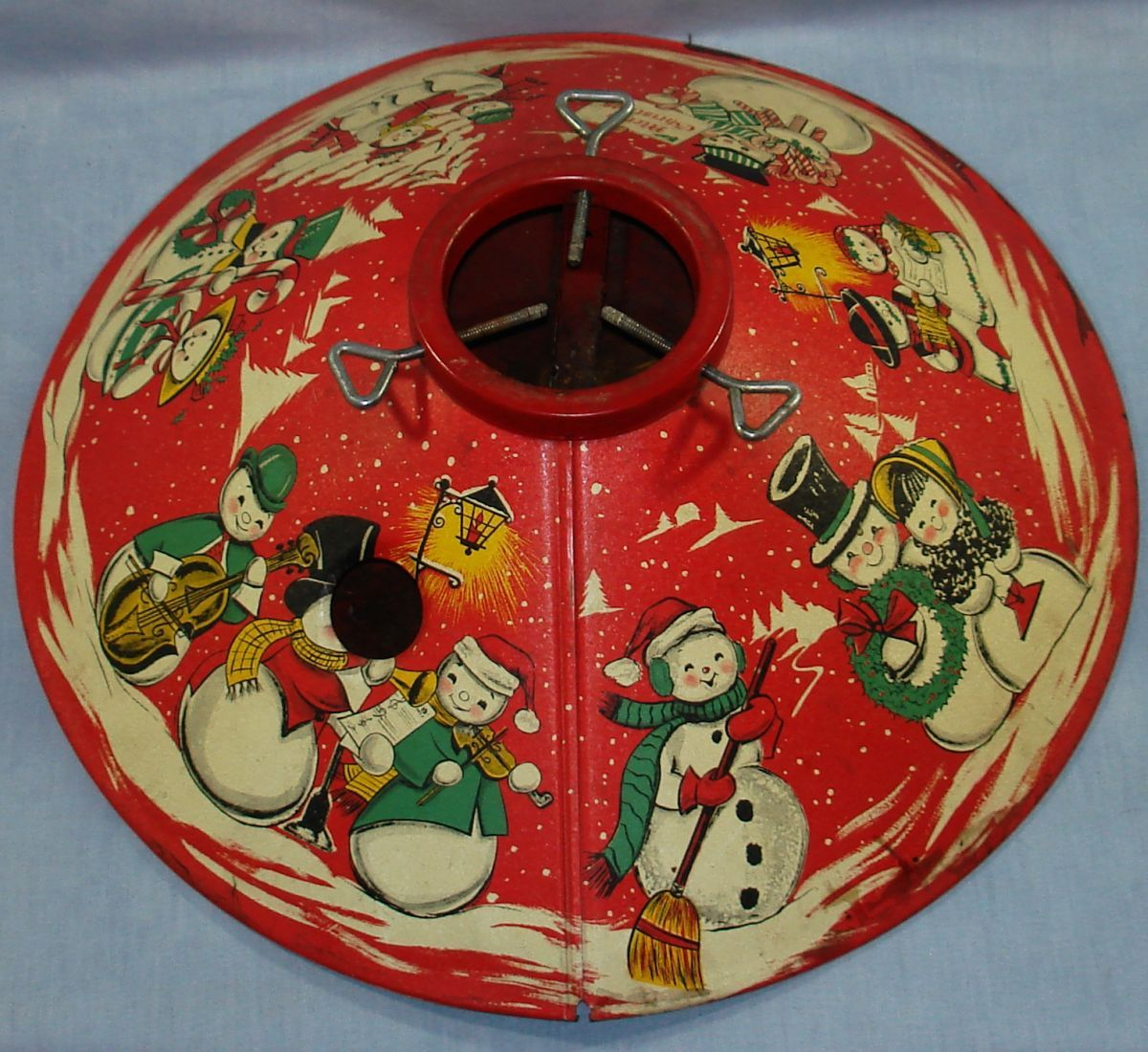 Vintage Christmas Tree Stand.1950s Tree Stand Oh Christmas Tree Stand Oh Christmas Tree