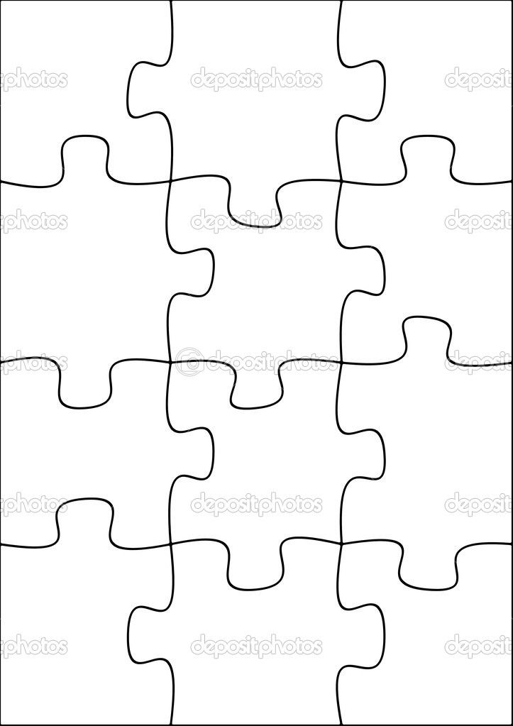 Piece Blank Puzzle  Stock Image   Puzzle Theme