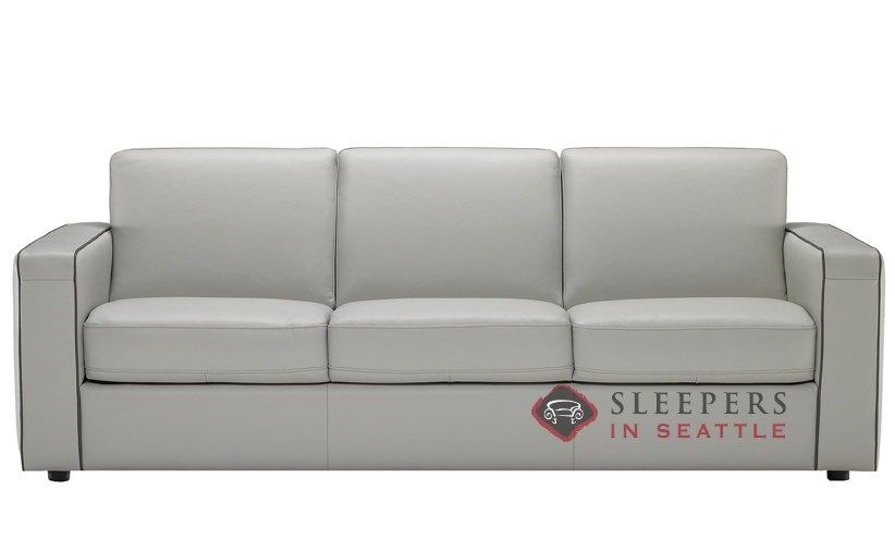The Rubicon Queen Leather Sofa Bed By Natuzzi Editions W/Greenplus Foam  Mattress Offers Premium Comfort. Shop Hot Deals On Queen Sleepers Now U0026  Save!