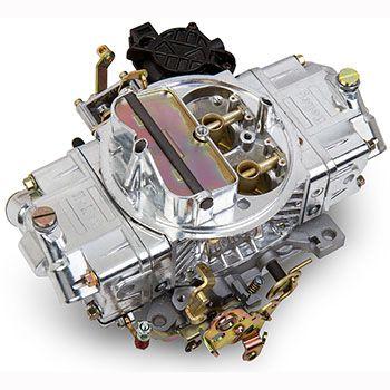 Holley Aluminum Street Avenger Carburetor 670 Cfm Manual Choke