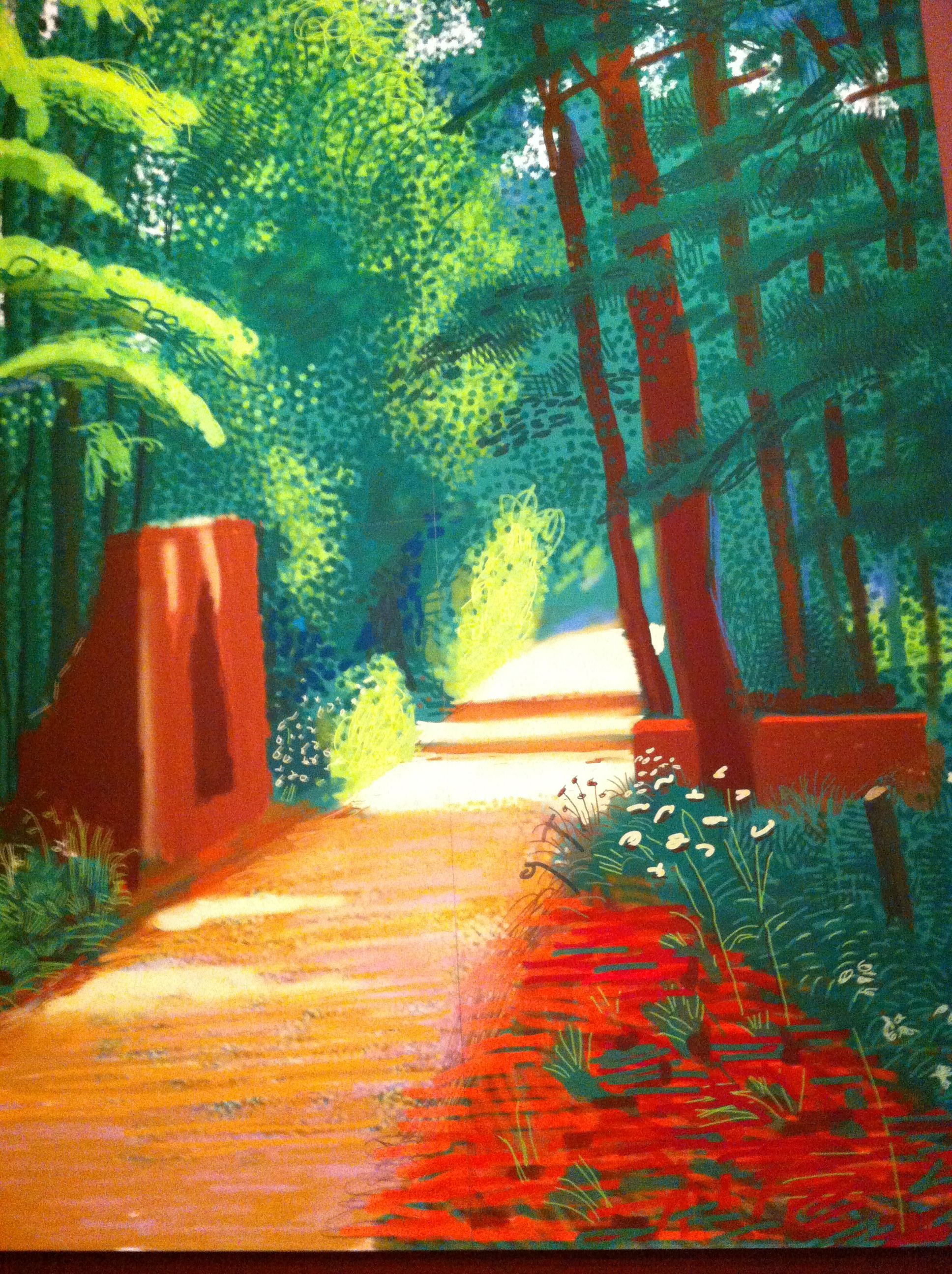 david hockneys very beautiful ipad art art